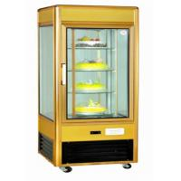 Quality Upright Refrigerated Countertop Bakery Display Case With Fire Resistant Material for sale