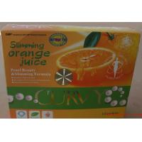 Wholesale Curvy Slimming orange Juice Drink To Reduce Appetite, Increase Metabolism , China weight loss Juice from china suppliers