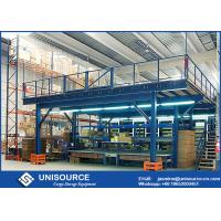 Wholesale Q235 Steel Shelving Rack Supported Mezzanine Platform System Easy To Install / Dismantle from china suppliers