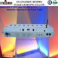 Wholesale Wedding Event Moving Head Beam Light Wireless DMX LED Wash Light 9*18W from china suppliers
