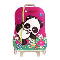Wholesale Double Shoulder Girls School Bags With Wheels Water Resistance from china suppliers