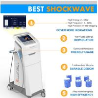 Wholesale Achillodynia / Plantar Fasciitis Shockwave Therapy Machine ESWT from china suppliers