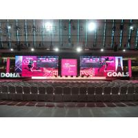 Wholesale Led Screen Hire P6 SMD3528 Led Video Wall Rental 2000cd / m2 For Entertainment from china suppliers