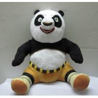 Wholesale Cute Kungfu Panda Sitting Pose Cartoon Plush Toys For Collection from china suppliers