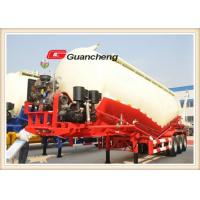 Wholesale Bulk Powder Tanker Bulk Cement Trailer 3 Axle Tanker Bulk Cement Trailer With Bpw Axle from china suppliers