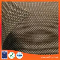 Wholesale brown color Textilene mesh fabric 2X2 weave patio furniture fabrics supplier from china suppliers