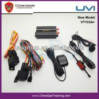 Quality Universal Vehicle GPS Tracker With Dual Fuel Sensor Monitoring for sale