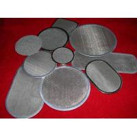 Wholesale woven stainless steel mesh filter( ISO 9001) from china suppliers