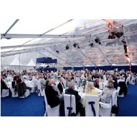 Wholesale Waterproof White PVC Wedding Outdoor Party Tents For 600 People from china suppliers