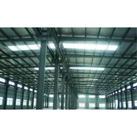 Wholesale High Corrosion Resistance Painting Steel Building Workshop , Structural Industrial Steel Buildings from china suppliers