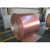 Wholesale 18 / 25 Micron Color Coated Aluminum Coil High Glossy Single / Double Coating from china suppliers