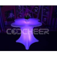 Wholesale Glowing led bar table furnituer modern bar tabe for weeding/event party from china suppliers