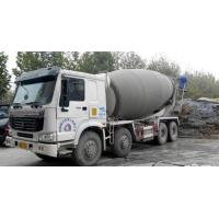 Wholesale Drum Mixer Concrete Truck 16cbm , Concrete Transport Truck With Imported Pump from china suppliers