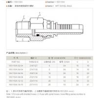 Wholesale NPT MALE Fitting (15611SW)/American fitting/hydraulic fitting from china suppliers
