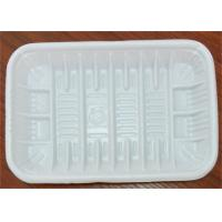 Wholesale PP Foam Disposable Food Trays , Food Grade Plastic Trays For Food Packaging from china suppliers