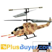 Wholesale Cobra iHelicopter - RC Helicopter with iPhone/iPad/iPod/Android Phone Controlled (Desert Camouflage) from china suppliers