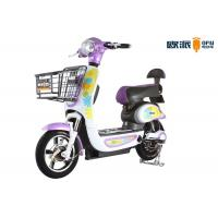Wholesale Hand Brake 500w Moped Pedal Electric Scooter With Front Rear Drum from china suppliers