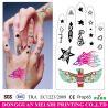Buy cheap Hand decoration temporary tattoo sticker body tattoos fake tattoo sticker from wholesalers