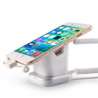 Wholesale COMER Security Anti-Lose Cell Phone Exhitbit magnetic Stand with charging cable from china suppliers