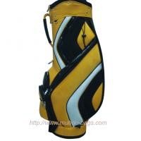 Wholesale Top Quality Orange Sports Travel Golf Stand Bag from china suppliers