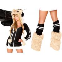 Wholesale DJ Spinwheel Hamster Party Adult Costumes White Black Brown Color Women Fashion from china suppliers