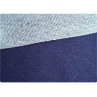 Wholesale Sofa Pillow Bedding Knit Denim Fabric White / Blue Jeans Fabrics from china suppliers