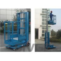 Wholesale 2.8m Mast Type Hydraulic Self Propelled Elevating Work Platforms For Cargo from china suppliers