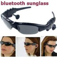 Quality Wireless bluetooth headset sunglasses, sunglass for cell phone iphone 3G 3GS motorcycle car for sale