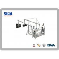 Wholesale ZLP300 Aluminum Swing Scaffolding Platform With Counter Weight 500kgs from china suppliers