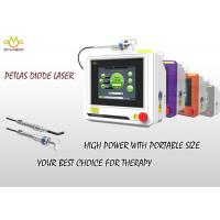 Buy cheap Touch Screen Diode Veterinary Laser Therapy Equipment For Surgical , 810nm / 980nm from wholesalers