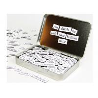 Kids Letters Fridge Magnetic Poetry Kit  5'' x 6'' Children's Learning Toys