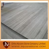 Wholesale white wood grain marble from china suppliers