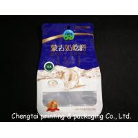 Wholesale Eco - Friendly BOPP Compound Shaped Pouches With Transparent Window Gravure Printing from china suppliers