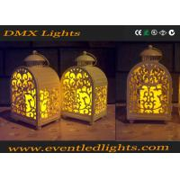 Wholesale Yellow Wedding / Banquet Led Flameless Candles Decorative With Moving Flame from china suppliers