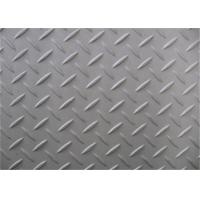 Wholesale Silver Surface Checkered Steel Plate, Hot Rolled Diamond Plate Flooring from china suppliers
