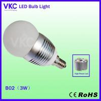Wholesale E14 led  bulb 3w with CE&ROHS from china suppliers
