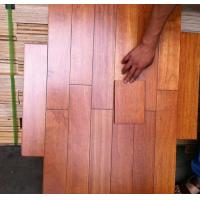 Buy cheap Kempass Solid Hardwood Flooring, natural color and glossy surface from wholesalers