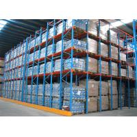 Wholesale Double Entrance Drive In Industrial Shelving UnitsFor High Density Pallet Storage from china suppliers