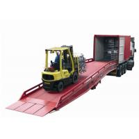 Wholesale 10tons Forklift Mobile Hydraulic Yard Ramp from china suppliers