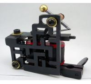 Wholesale Salon Handmade Tattoo Machine Set 30000 Turn Frequency / Tattoo Gun Equipment from china suppliers