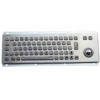 Wholesale IP65 Kiosk Metal Keyboard with trackball 330.0*100.0mm for self-service machine from china suppliers