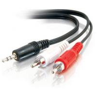 Wholesale High quality dc3.5 to 2rca cable(3.5mm male stereo jack to 2 male rca plugs cable ) from china suppliers