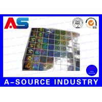 Wholesale Anti Fake Hologram Security Stickers , Printing 3d Hologram Security Labels Tamper Proof from china suppliers