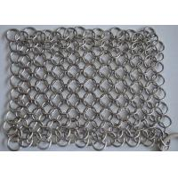 "Wholesale 8""x6"" 316L Stainless Steel Chainmail Cast Iron Cleaner For Cast Iron from china suppliers"