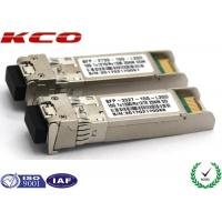 Wholesale 20KM 10GB Single Mode Simplex LC Connector SFP Fiber Optic Transceiver With DDM from china suppliers