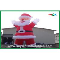 Wholesale Santa Claus Decoration Inflatable Cartoon Characters For Christmas from china suppliers