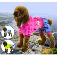 Wholesale Pet clothes flush soft warm apparel dog clothes from china suppliers