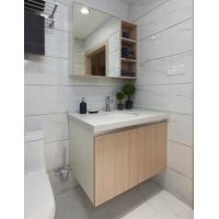 Wholesale PVC Board Hotel Bathroom Furniture Bathroom Wall Mounted Cabinets With Mirror from china suppliers