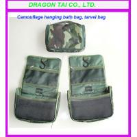 Wholesale Camouflage hanging bath case,  travel hang bag, bathroom hangbags, Camouflage bag from china suppliers