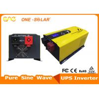 Wholesale 3kw DC 12v Pure Sine Wave Solar Power Inverter Yellow Home Inverter Online from china suppliers